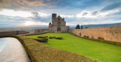 Basilica of St. Francis in Assisi, Umbria, Italy