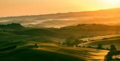 Early morning light in the Tuscany region, Italy