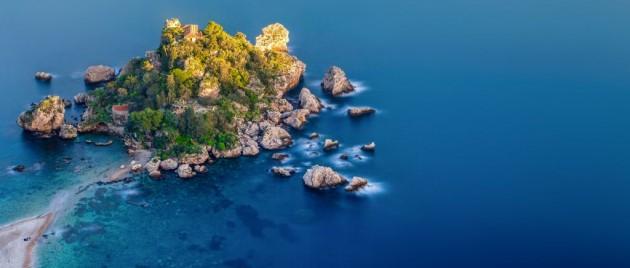 Isola Bella from Taormina