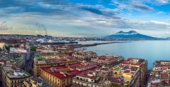 The Gulf of Naples and Mount Vesuvius