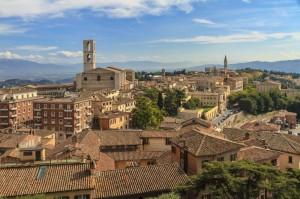 Perugia skyline, Italy