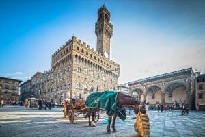 Piazza della Signoria in Florence, Tuscany, Italy