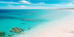 Sandy shore in Stintino, Sardinia, Italy