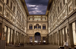 Uffizi Gallery in Florence, Tuscany, Italy