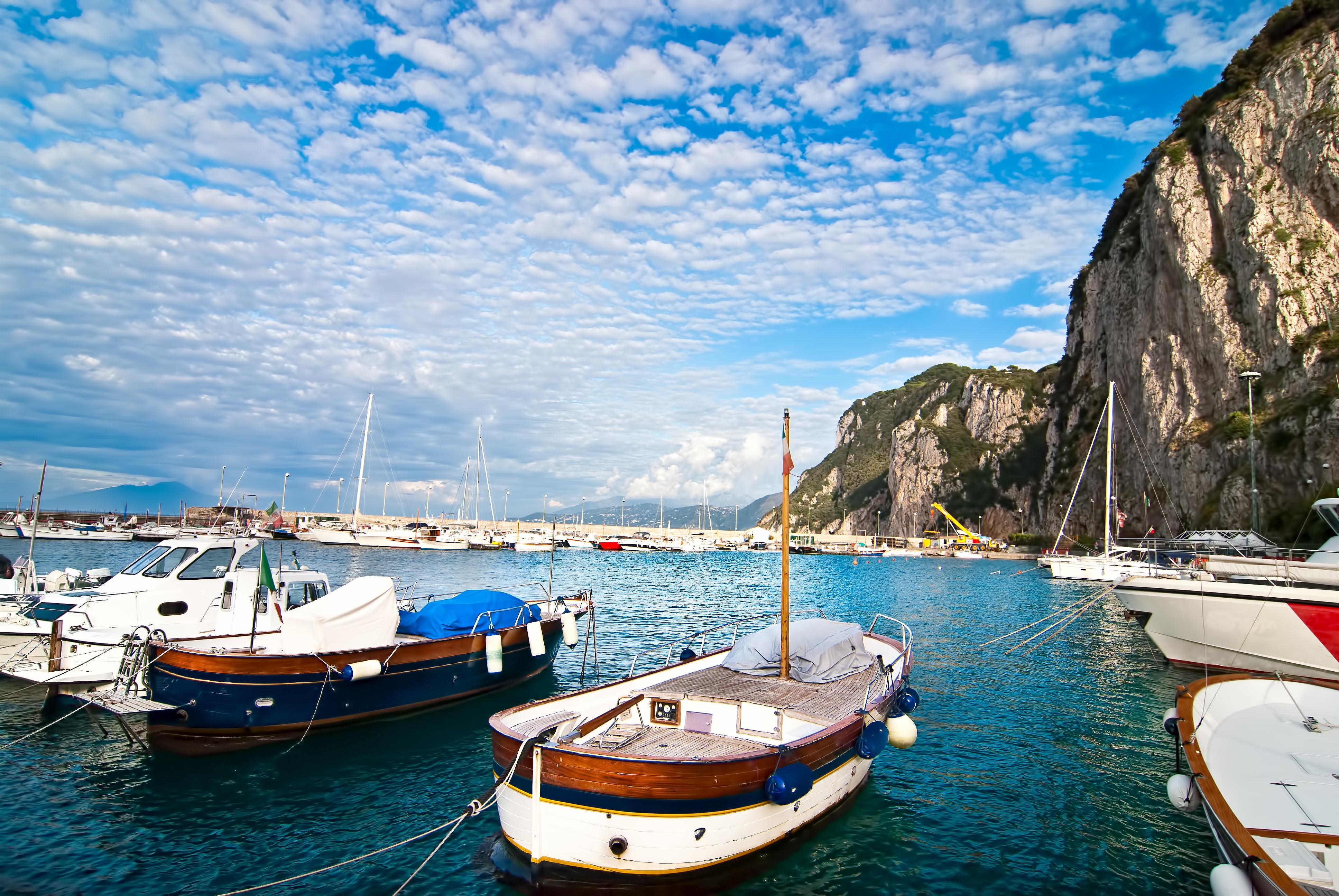 Italy travel agent rome mt vesuvius capri amalfi for Fishing in italy
