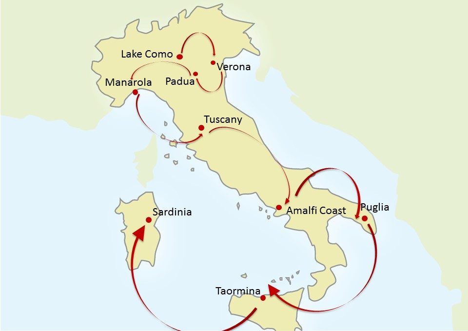 Discover Your Italy Grand Tour Of Italy By Private Jet