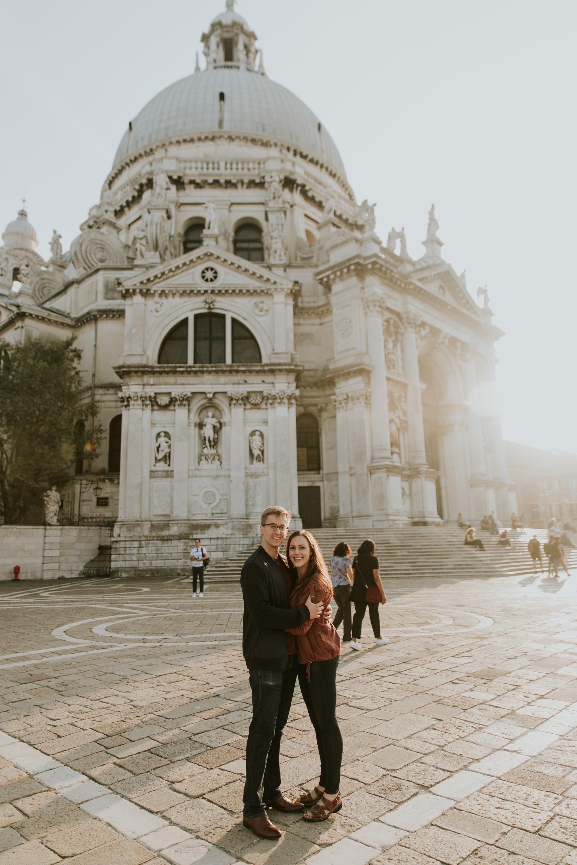 Mr & Mrs Schneider, Chiesa di Santa Maria Della Salute, Venice, Italy